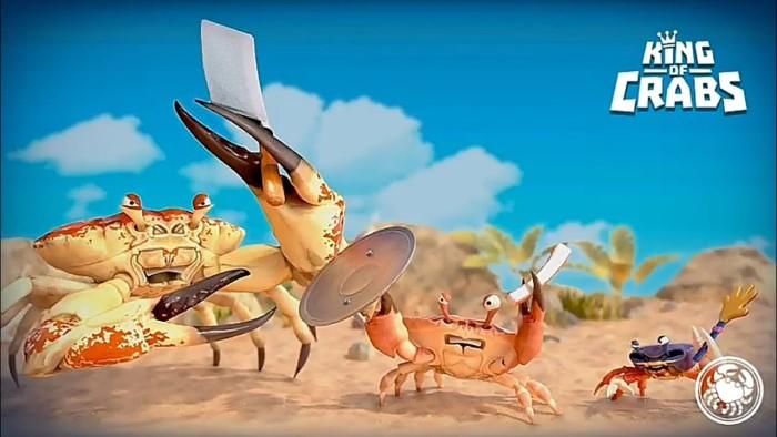 king of crabs game cua vua vui nhộn