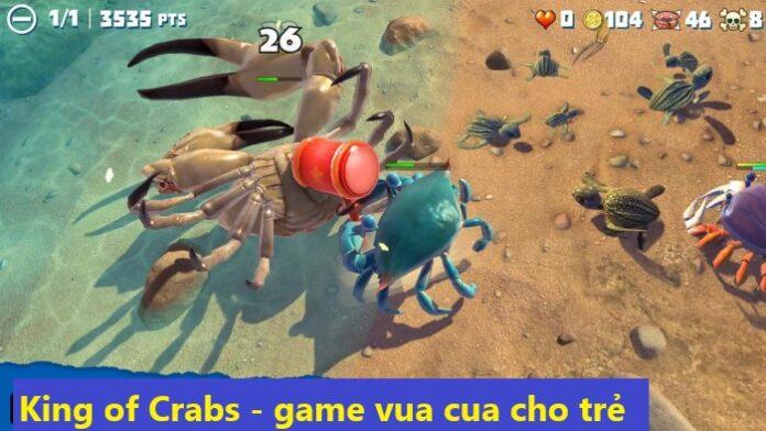 King of Crabs game cua vua cho trẻ vui online