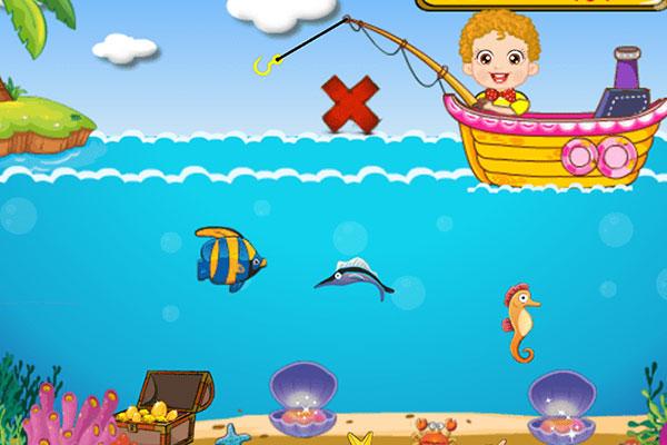 Game câu cá là tựa game hay được đa số trẻ em chơi