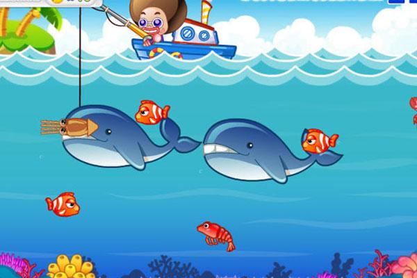 game cho bé 2 tuổi dòng trò chơi câu cá