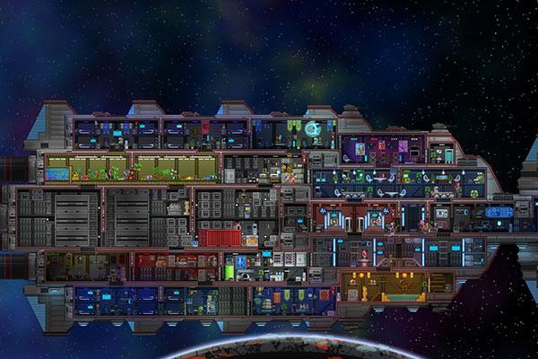 Khám phá bản sắc người ngoài hành tinh qua game Starbound