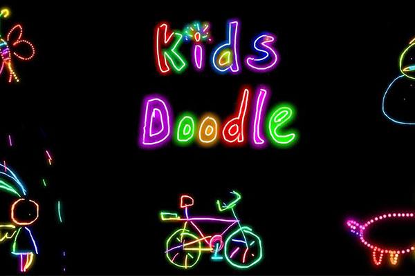 Trò chơi cho bé từ 3 - 4 tuổi trên điện thoại - Kids Doodle