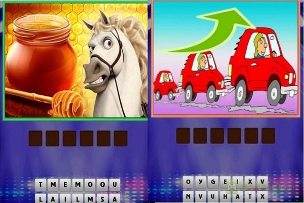 trò chơi đuổi hình bắt chữ trên điện thoại