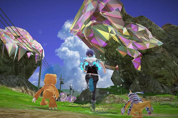 2 con quái vật sẽ là người bạn chinh chiến thích hợp với những người chơi game Digimon World: Next Order