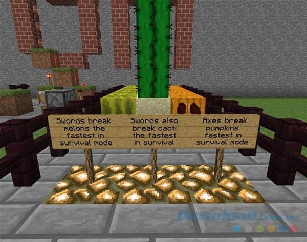 Các mẹo trong Mine Craft - Mẹo số 15