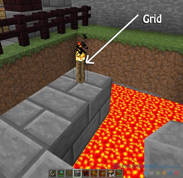 Các mẹo trong Mine Craft - Mẹo số 2