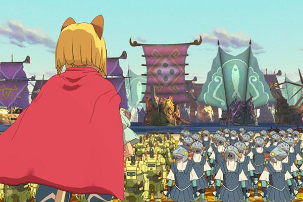 Đồ họa trong game Ni No Kuni II đậm chất Anime