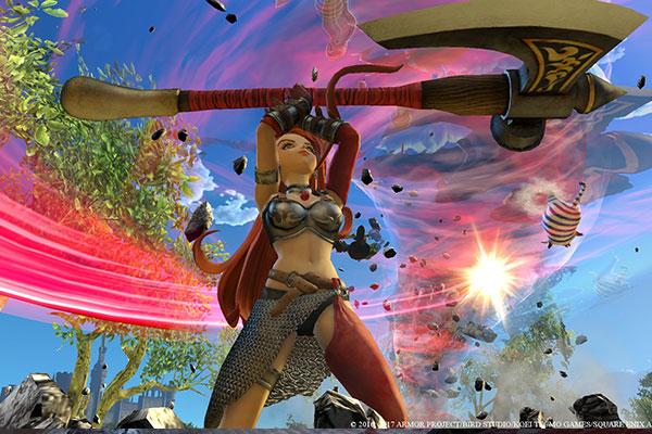 Dragon Quest Heroes 2 được xây dựng trên hệ thống nhân vật và kỹ năng rất bá đạo