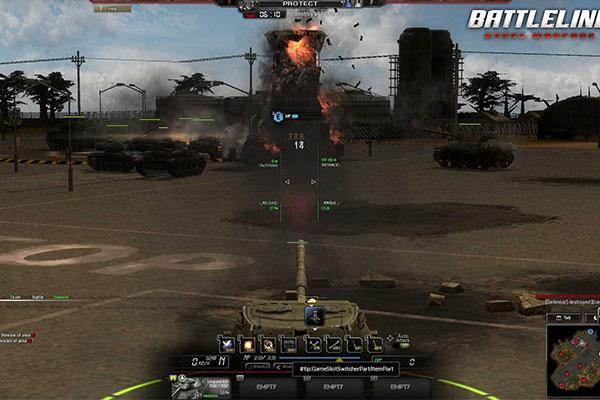 Game Battleline: Steel Warfare đòi hỏi người chơi phải phối hợp tốt với nhau để thắng đối thủ
