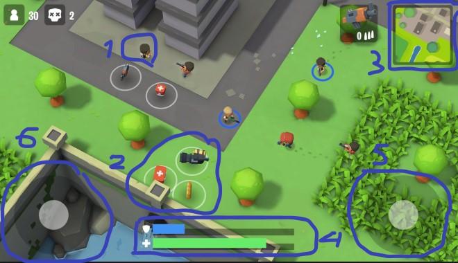 Review game vui nhộn Battlelands Royale (phiên bản PUGB) cực hài 2