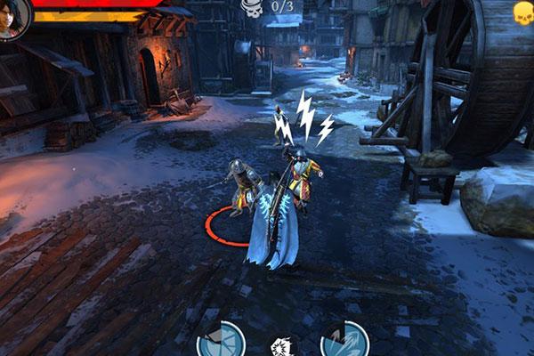 Góc nhìn mà người chơi sẽ được trải nghiệm trong Iron Blade