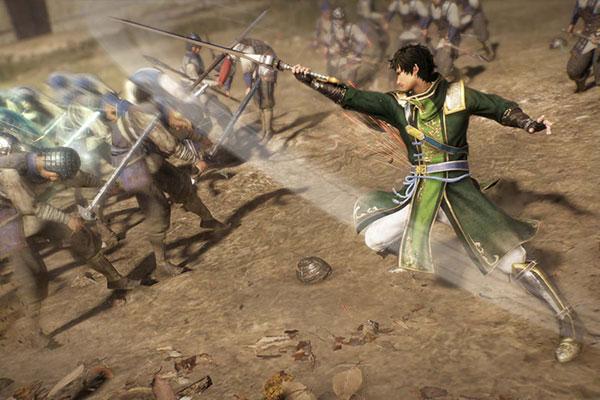 Khung cảnh có trong game Dynasty Warriors 4 (2004)