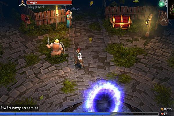 Nhà phát triển đã tạo cho tựa game Eternium những hình ảnh đồ họa bắt mắt nhất