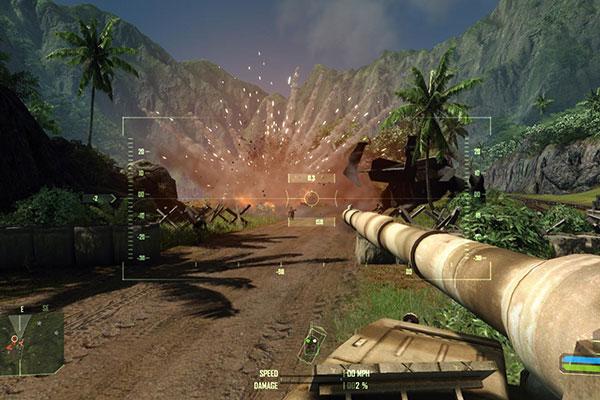Nhà sản xuất Crysis 2007 đã không ngừng đầu tư về độ họa để game thủ có trải nghiệm tốt nhất có thể