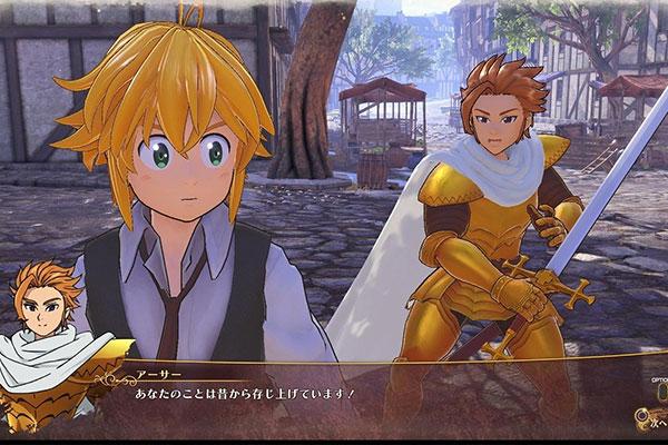 Phong cách chiến đấu máu lửa là 1 trong những yếu tố làm cho The Seven Deadly Sins: Knights of Britannia trở thành top game anime cho PC