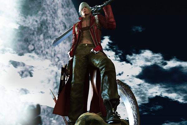 Thế giới trong game Devil May Cry 3 (2005) rất đen tối phù hợp với các khung cảnh chặt chém