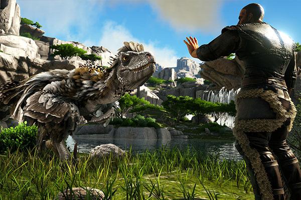 Trải nghiệm 3D trong game Ark Survival Evolved (2015) là tuyệt đỉnh