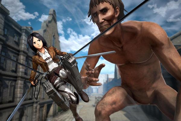 Việc hóa thân từ chiến binh nhỏ bé đấu với tụi khổng lồ khiến tựa game này trở thành game anime hay pc đáng chơi