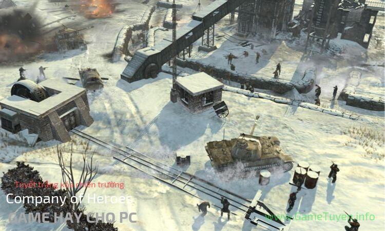 Game dàn trận cực hay PC - Company of Heroes