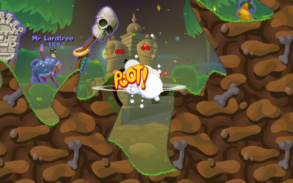 Game hay Worms toàn cảnh chiến trường