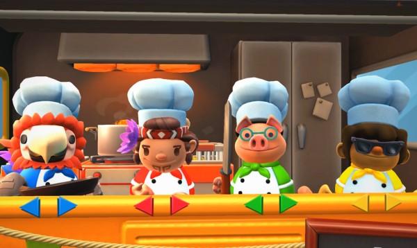 Overcooked game PC hay về chủ đề nấu ăn