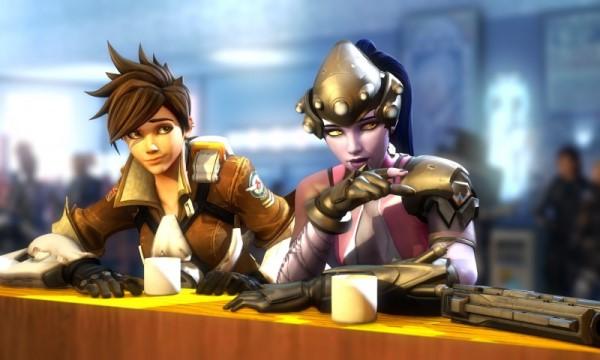 Overwatch mang phong cách giải trí với đấu chính là theo team với 2 đội