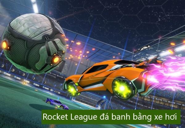 Rocket leage - đá banh bằng xe hơi trò chơi PC
