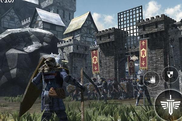 Nhiệm vụ của bạn là đuổi 3 thế lực Undead, Orc và Goblin ra khỏi kinh thành
