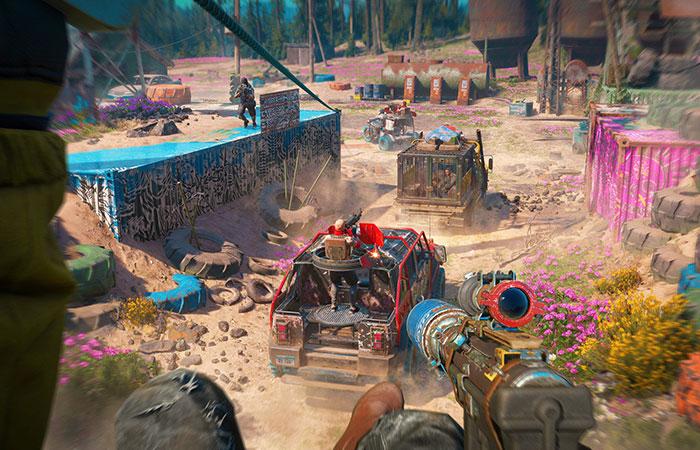 Game hành động sinh tồn Far Cry New Dawn