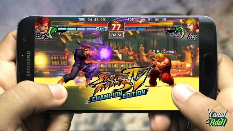 game mobile offline hay Steet fighter 4