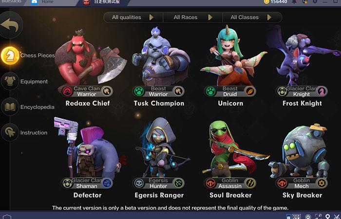 Những nhân vật và tính năng có trong game