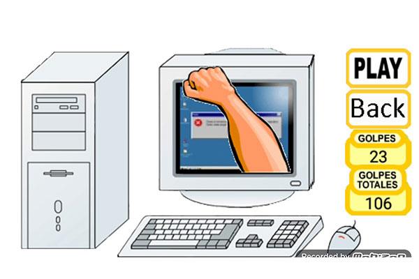 Trò chơi đập nát máy tính Crazy Smashing Computer được nhiều game thủ yêu thích