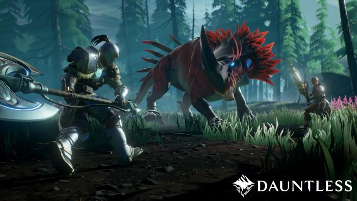 Dauntless dòng game nhập vai giết quái vật miễn phí PC