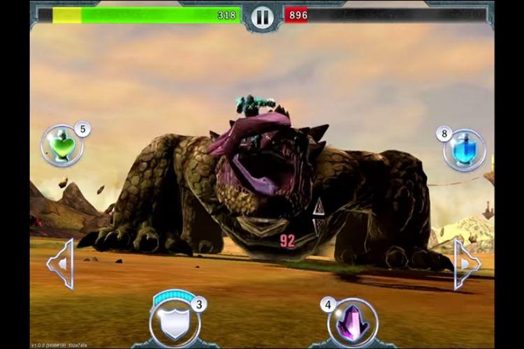 Dragon Slayer thể loại game giết rồng hay trên android