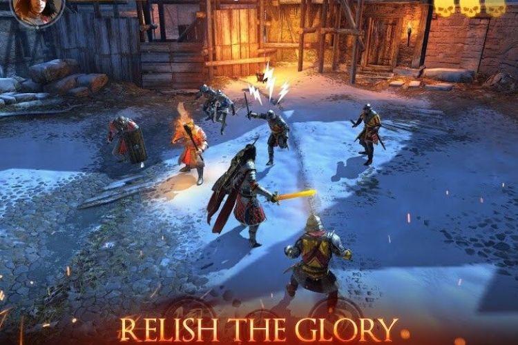 Medieval Legends RPG game nhập vai android chiến đấu thời trung cổ