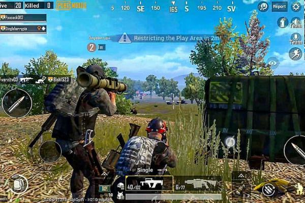 Hình ảnh trên chiến trường trong game PUBG mobile