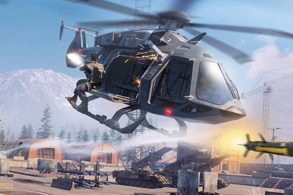 trực thăng chiến đấu trong game call of duty