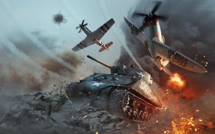war thunder dòng game chiến thuật PC