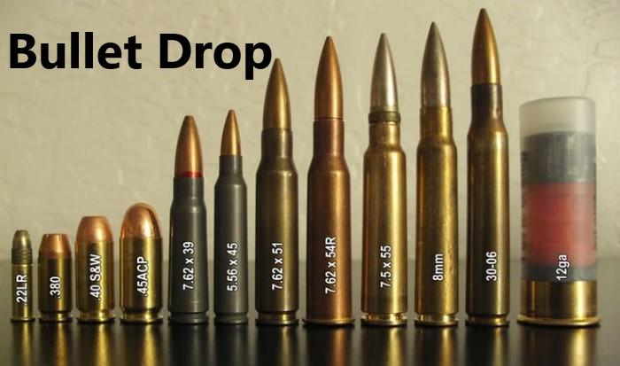 Butlett drop quan trọng tương ứng với khối lưỡng mỗi loại đạn trong game pugb