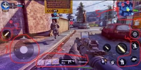 hình ảnh trong trò chơi call of duty phiên bản mobile