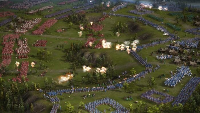 1 trận chiến trong game cossack dàn trận cổ điển PC