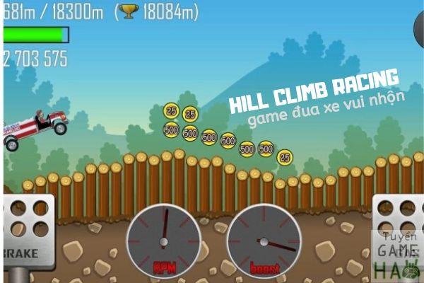 Hill climb racing có 28 màn cảnh quan khác nhau