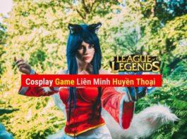 Hình nền Cosplay LOL đẹp game liên minh huyền thoại
