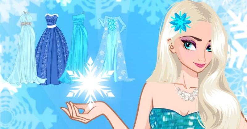 Icy or Fire dress up game thời trang cho nữ hoàng