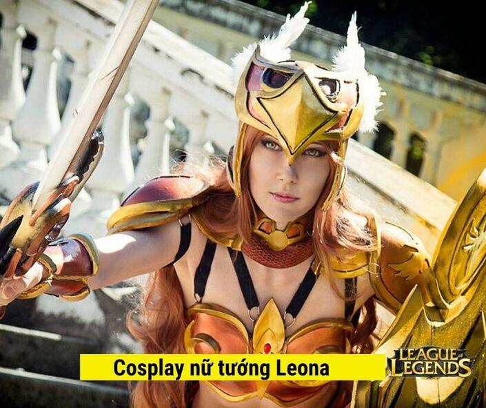 Cosplay Nữ tướng Leona game liên minh huyền thoại
