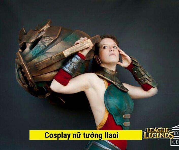 Cosplay Nữ tướng Ilaoi game liên minh huyền thoại