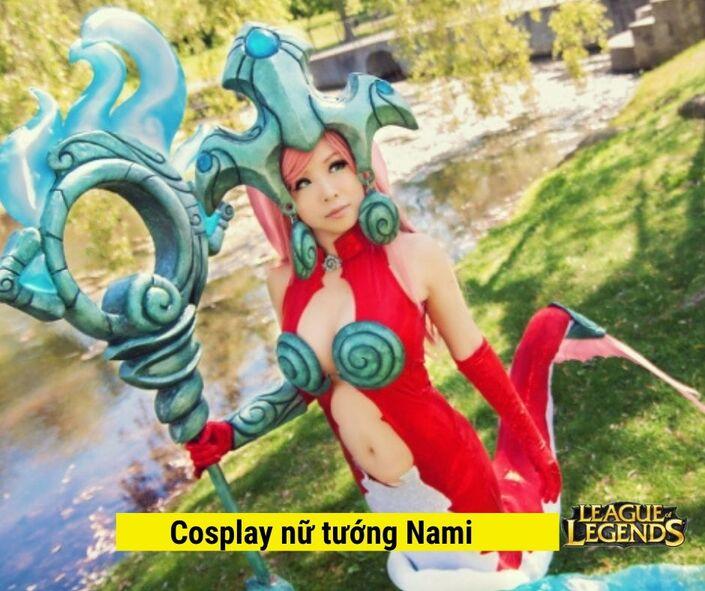 Cosplay nữ tướng Nami trong game LOL