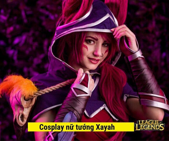 Hình tượng cosplay tướng Xayah LOL