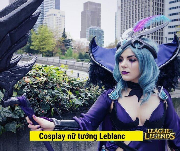 Hình ảnh Cosplay Nữ tướng leblanc game liên minh huyền thoại