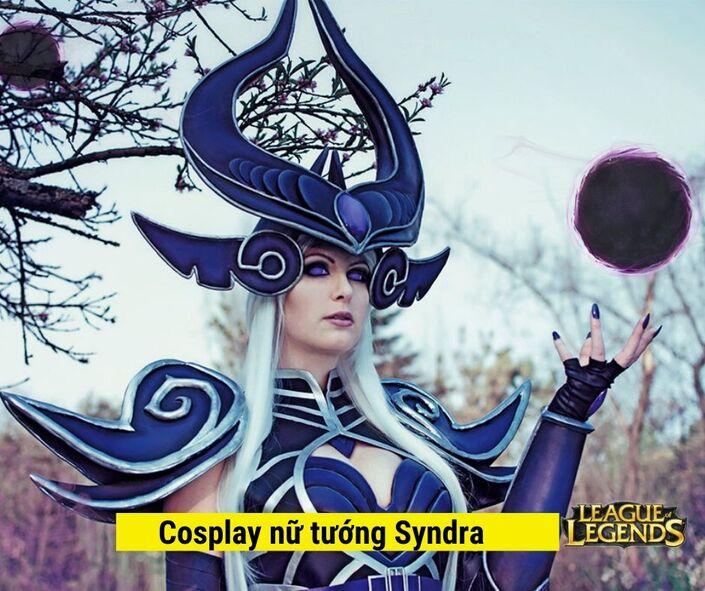 Hình nền Cosplay Nữ tướng syndra game LOL